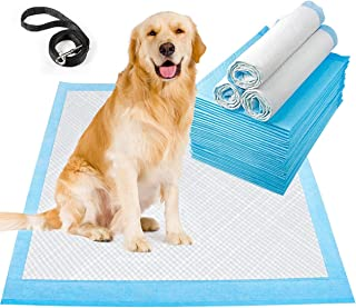 LONENESSL Pet Training Pads Leak-Proof and Super Absorbent Dog Pee Pads, Disposable Fast Drying Pee Mats for Dogs, Cats, R...