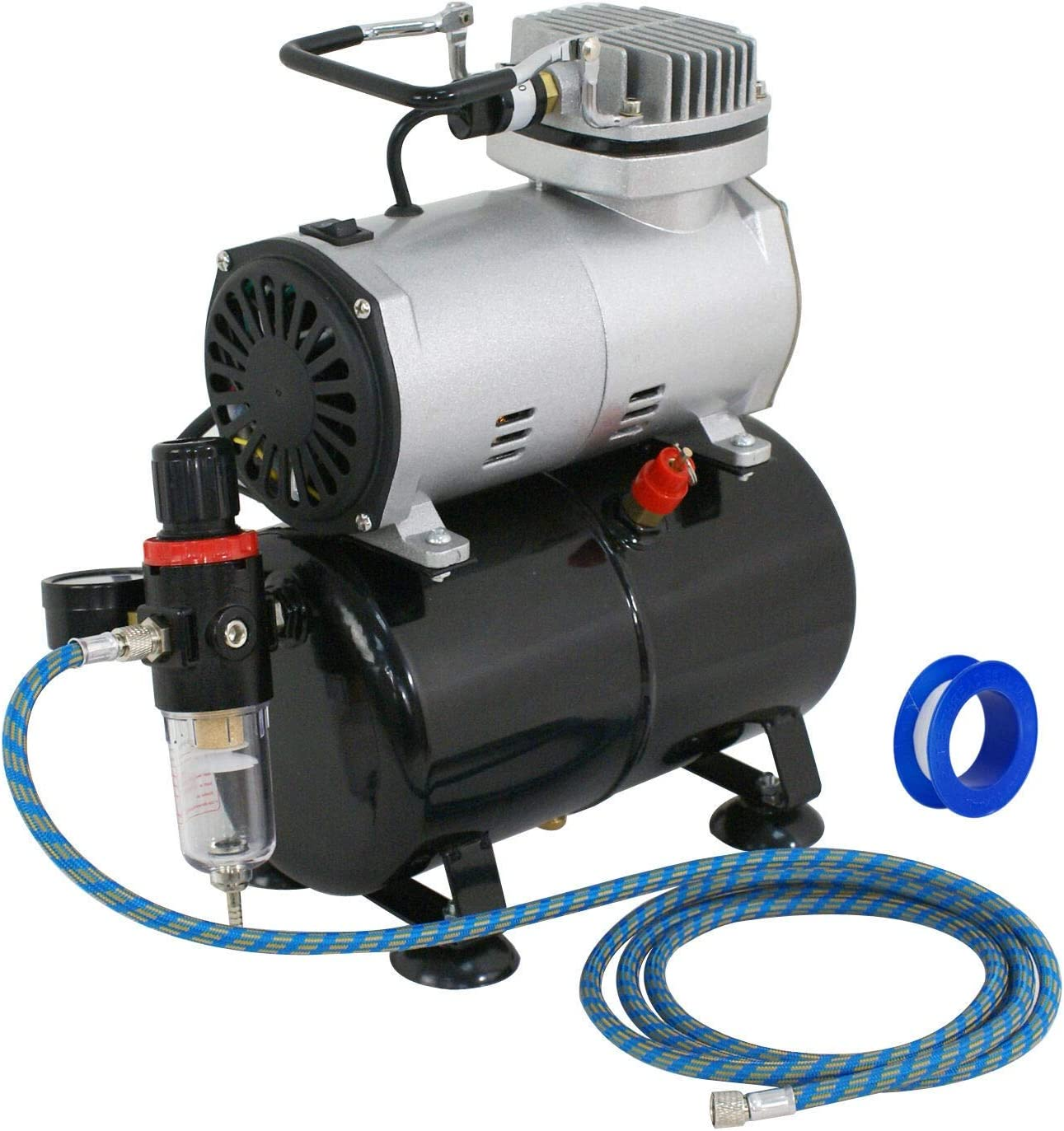 DFGH Compressor Kit Thermally Protected 1 5 Very popular Tan Elegant 3L HP with Air