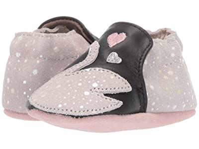 Robeez Layla Soft Sole (Infant/Toddler) (Silver) Girl