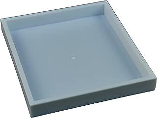 "Regal Pak ® White Plastic Stackable Half Size 1""H Tray 7 1/4"" X 8 1/4"" X 1""H"