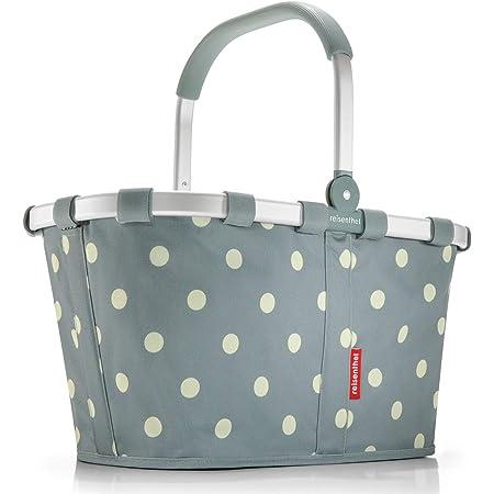 Reisenthel carrybag Black Einklaufskorb (Grey Dots)