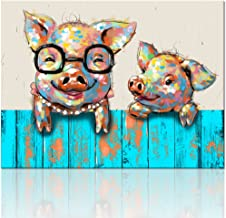 Amazon Com Wall Art Picture Of Pig