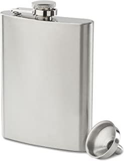 Best flask whiskey stainless steel Reviews