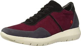 MARC JOSEPH NEW YORK Womens Genuine Leather Eva Lightweight Technology Fashion Trainer Sneaker