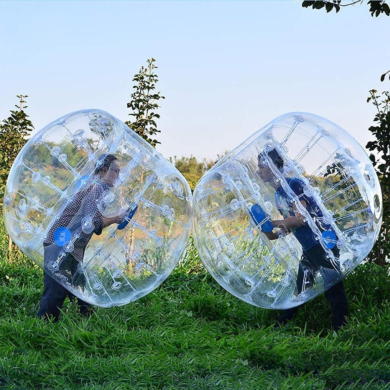 DMBHW Inflatable Bumper Balls Transparent Material Bubble Soccer Ball Human Hamster Ball zorb Ball 1.2M Diameter