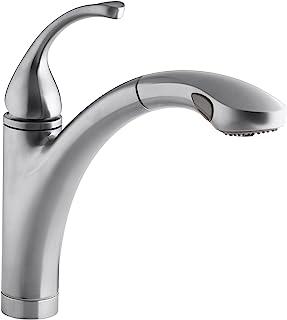 Amazon Com Kitchen Faucets Kohler Kitchen Faucets Kitchen Fixtures Tools Home Improvement