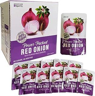 Hamyang Red Onion Extract Juice 100% Organic-Antioxidants/Digestive Health/Blood Sugar/Healthy Heart 10 Pack/ Box -자색 양파즙...