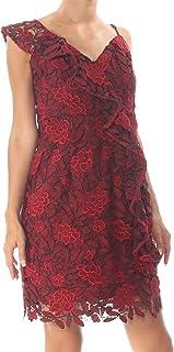 GUESS womens Sleeveless Teegan Lace Dress Dress
