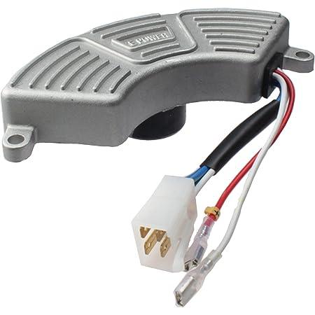 Voltage Regulator /& Carbon Brush for Honda EX5500 EX5500K2 EX3000S EX4000S