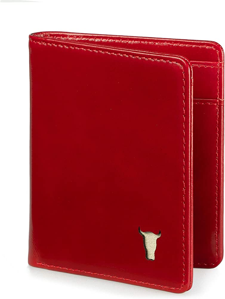 Torro, portafoglio per uomo in vera pelle, protezione rfid, 5 slot per carte 5060530234868