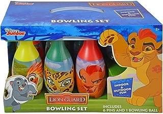 lion guard bowling set