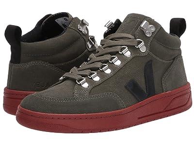 VEJA Roraima (Olive/Black Suede/Rust) Shoes