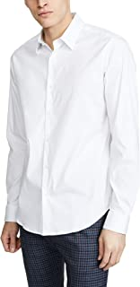 Theory Men's Sylvain Long Sleeve Button Down Shirt