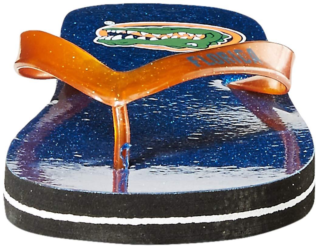FOCO NCAA Unisex Stripe Fade FLIP Flop