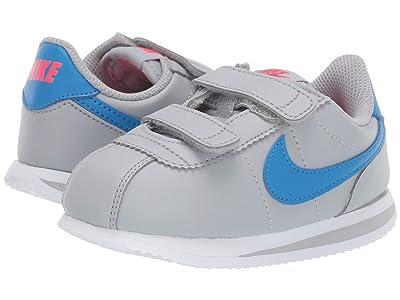 Nike Kids Cortez Basic SL (Infant/Toddler) (Wolf Grey/Photo Blue) Kids Shoes