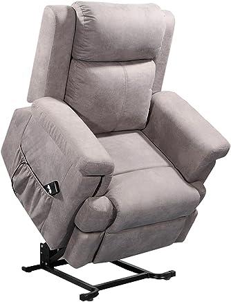 Amazon.es: Madera - Sillones y chaises longues / Sillas ...