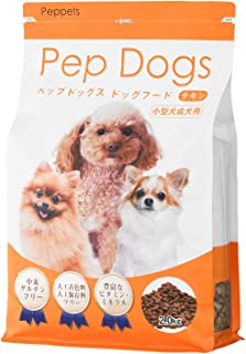 【公式】 ペップドッグフード ムツゴロウさん Pep Dog Food 小型犬 成犬用 ドッグフード ドライ 小粒 2.0kg 低アレルギー