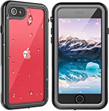 SPIDERCASE iPhone SE 2020/iPhone 7/iPhone 8 Waterproof Case, Built-in Protector Full Body Rugged Case, IP68 Shockproof Dir...