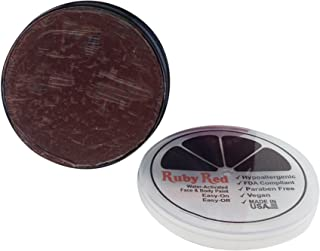 Ruby Red Paint Face Paint, 18 ML - Chocolate