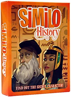 Horrible Games Similo History: A Fast Playing Family Card Game - Guess the Secret Historical Character, 1 Player is the Cl...