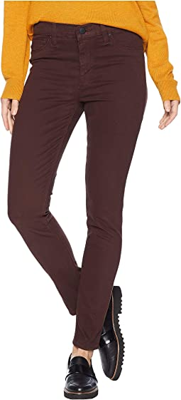 Nico Mid-Rise Ankle Skinny Jeans in Antler