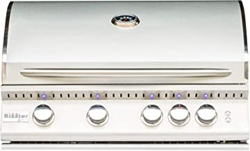 Summerset Sizzler Pro 32-inch 4-burner Built-in Natural or Propane Gas Grill W/ Rear Infrared Burner - SIZPRO32-NG or SIZPRO32-LP - (Natural Gas)