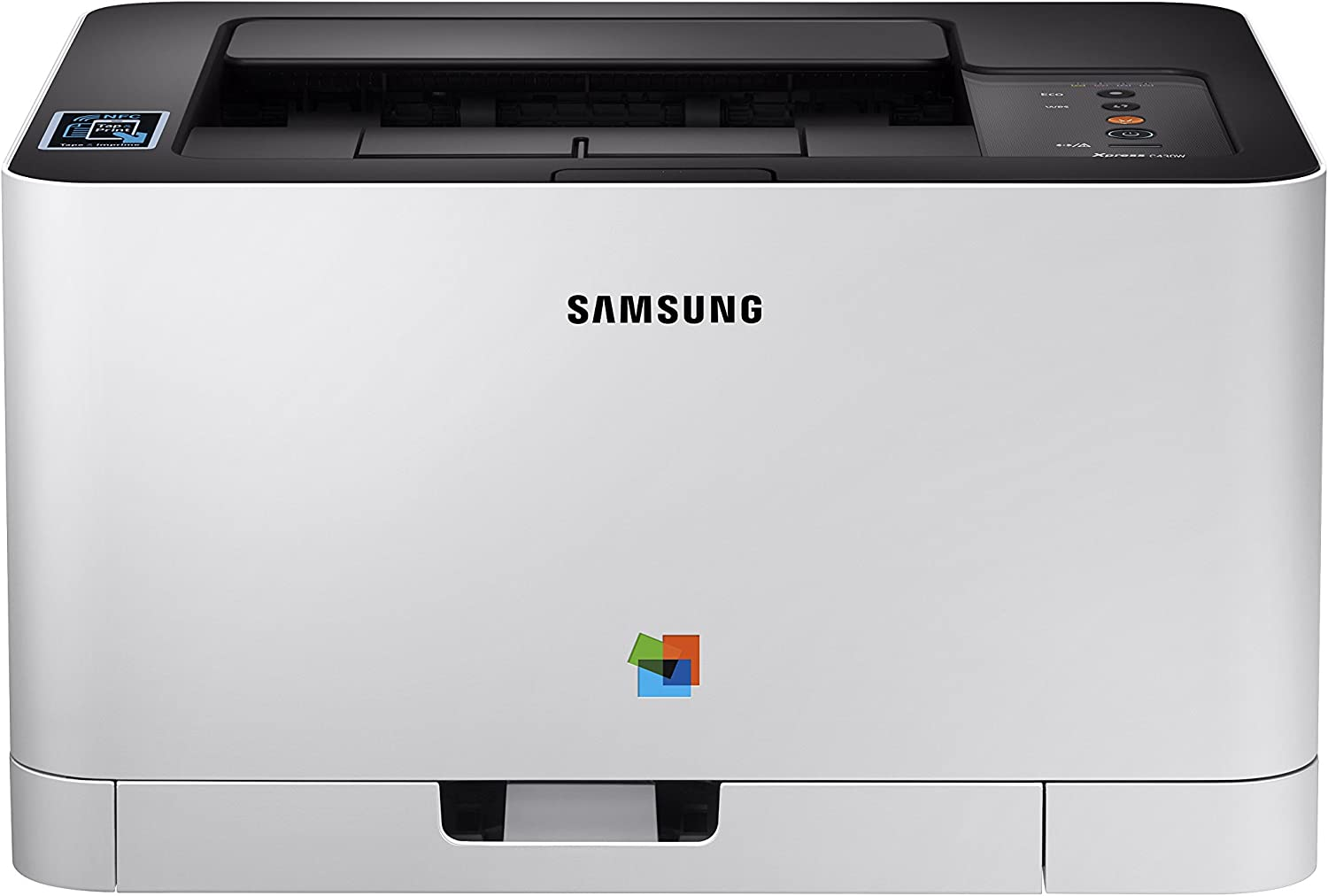 Samsung Xpress C430W Wireless Color Laser Printer with Simple NFC + WiFi Connectivity and Built-in Ethernet (SS230G)
