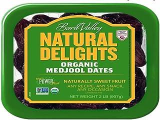 Brad Valley USDA ORGANIC Medjool Dates 2 Lbs. KOSHER Cetified NON GMO Verified