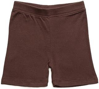 Leveret Girls Legging Cotton Bike Kids & Toddler Shorts Pants (Size Toddler-14 Years)