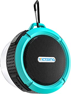 VicTsing SoundHot C6 Portable Bluetooth Speaker, Waterproof Bluetooth Speaker with 6H Playtime, Loud HD Sound, Shower Speaker with Suction Cup & Sturdy Hook, Compatible with IOS, Android, PC, Pad