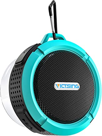 VicTsing SoundHot C6 Portable Bluetooth Speaker, Waterproof Bluetooth Speaker with 6H Playtime, Lound HD Sound, Shower Speaker with Suction Cup & Sturdy Hook, Compatible with IOS, Android, PC, Pad