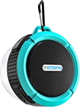 VicTsing SoundHot C6 Portable Bluetooth Speaker, Waterproof Bluetooth Speaker with 6H Playtime, Loud HD Sound, Shower Speaker with Suction Cup & Sturdy Hook, Compatible with Cellphones, PC, Laptops