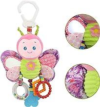 Dreamsbox Juguete De Felpa Juguete Colgante Bebe, Juguetes de Animales Juguete Musical De para Silla de Paseo Cama Colgando para Recién Nacidos 0-24 Mes (Mariposa)