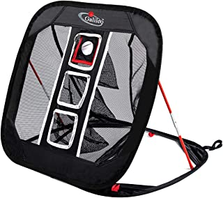 GALILEO Golf Chipping Net for Training Practice Driving Indoor Outdoor Collapsible Portable Pop Up Net with Carry Bag(1Target)
