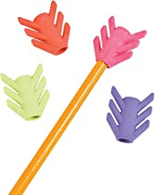 Fun Express - Arrow Pencil Toppers for Valentine's Day - Stationery - Pencil Accessories - Erasers - Valentine's Day - 24 Pieces