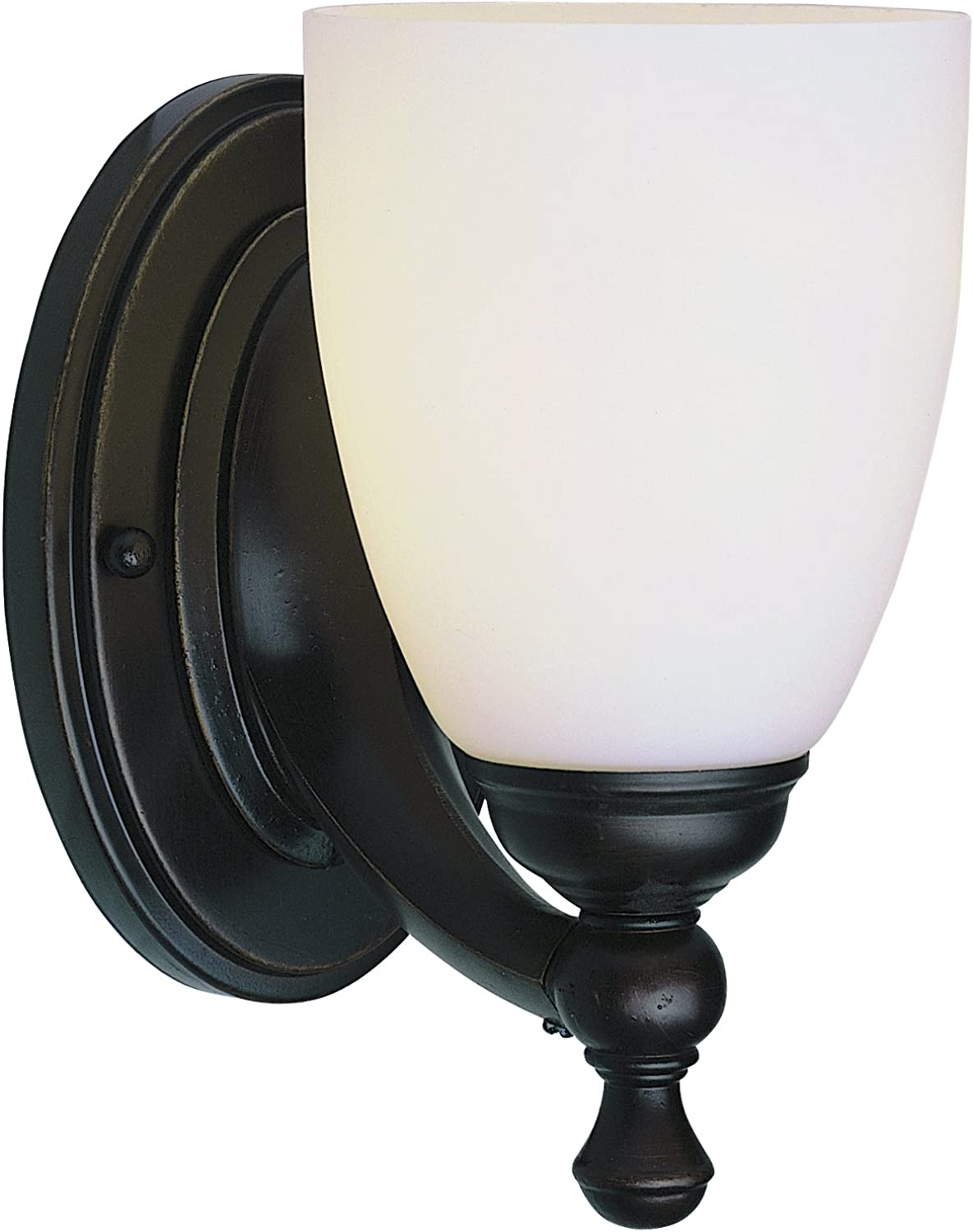 Trans Globe Lighting 3651 ROB Indoor Eleanor 5  Wall Sconce, Rubbed Oil Bronze