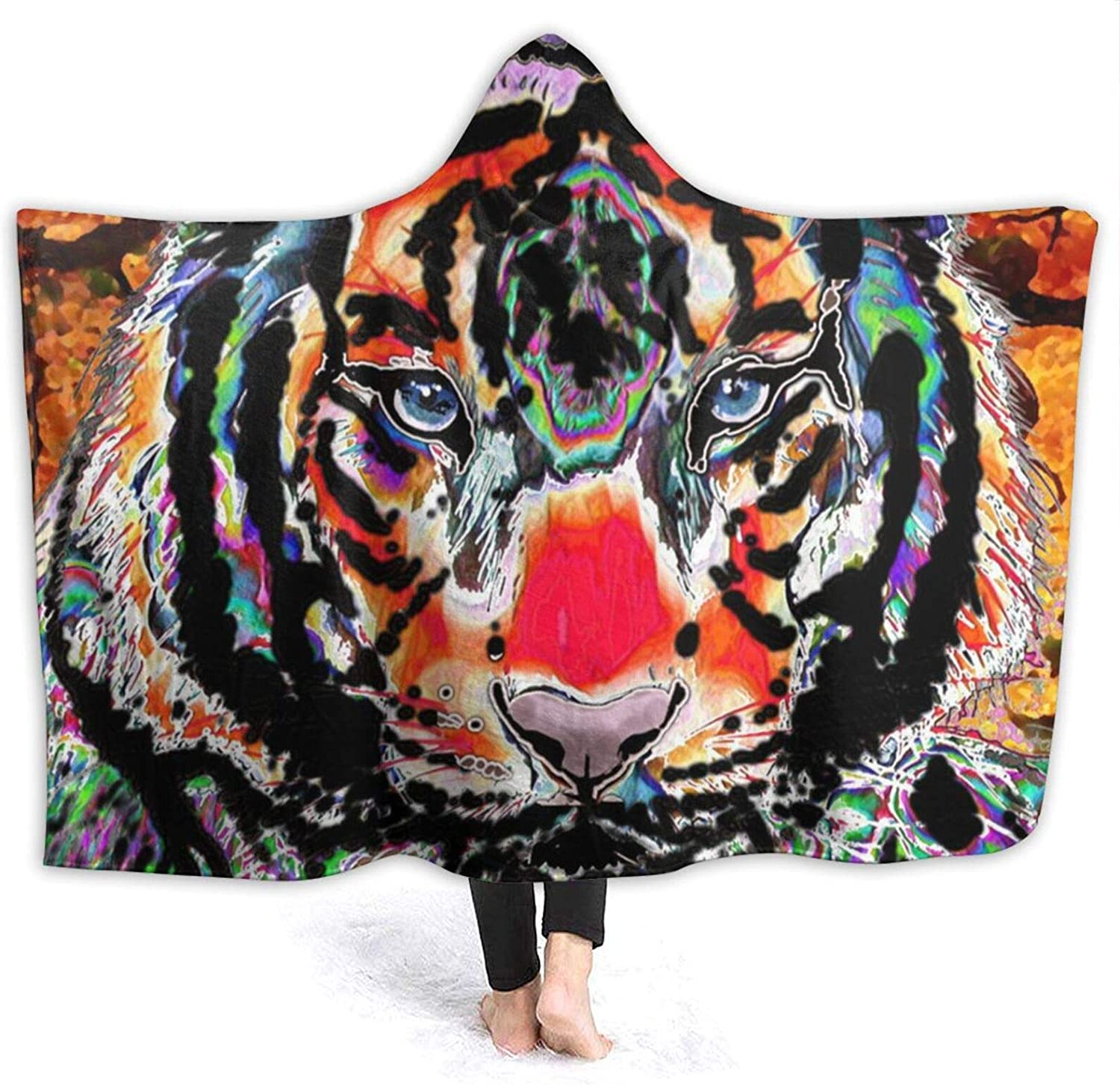 Suining Cool Tiger Blanket Weekly update New sales with Women Hood Sherpa Throw