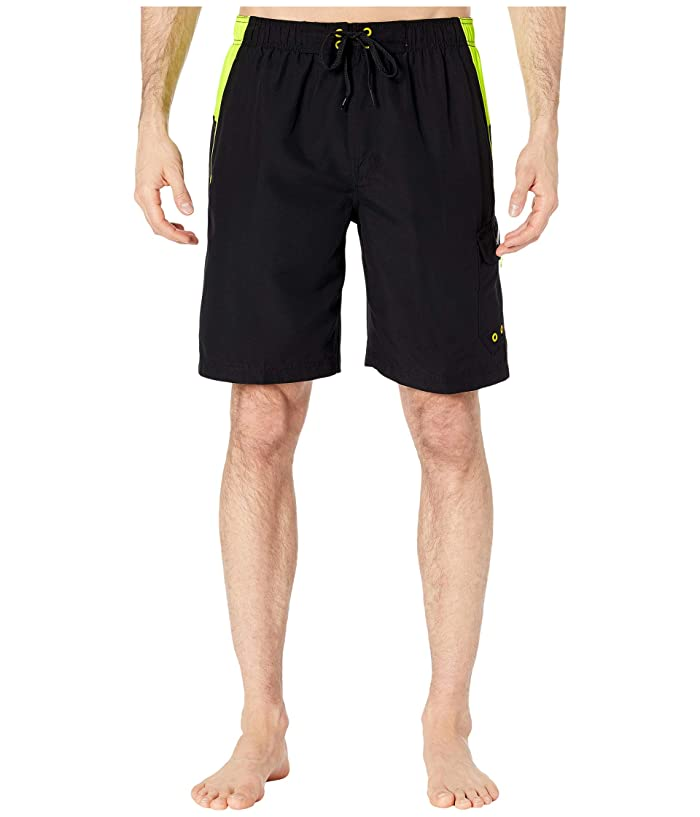Speedo  Sport Volley (Black/Yellow) Mens Swimwear