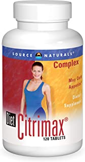 Source Naturals Diet Citrimax Complex, May Curb Appetite - Dietary Supplement Supports Weight Loss - 120 Tablets