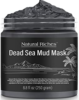 Natural Riches Dead Sea Mud Mask for Face and Body - Natural Skin Care for Men and Women - Spa Quality Best Facial Cleansi...