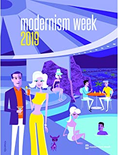 Destination PSP 2019 Modernism Week Poster SHAG