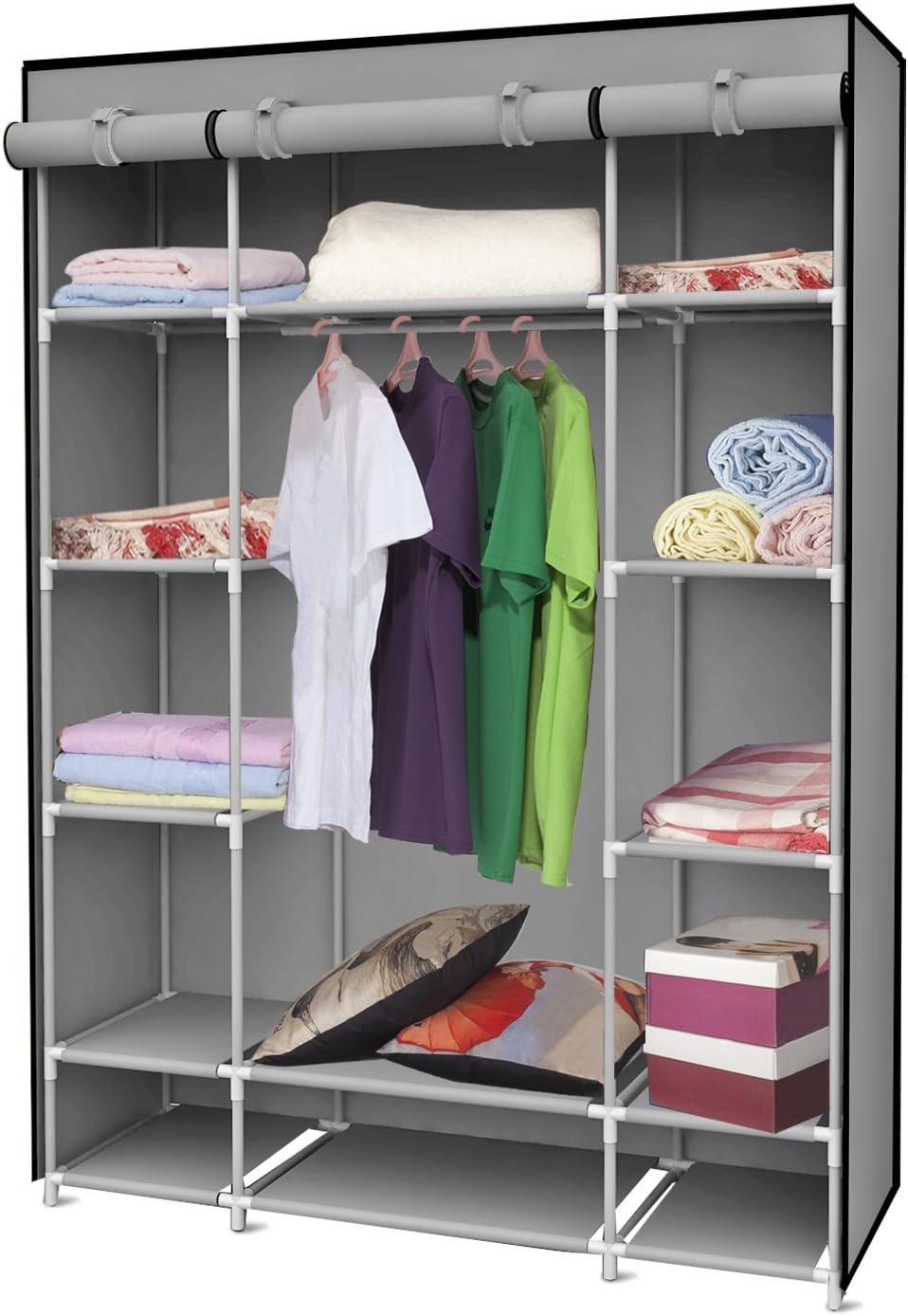Sunbeam Storage Closet Shelving Cash Brand Cheap Sale Venue special price Grey with