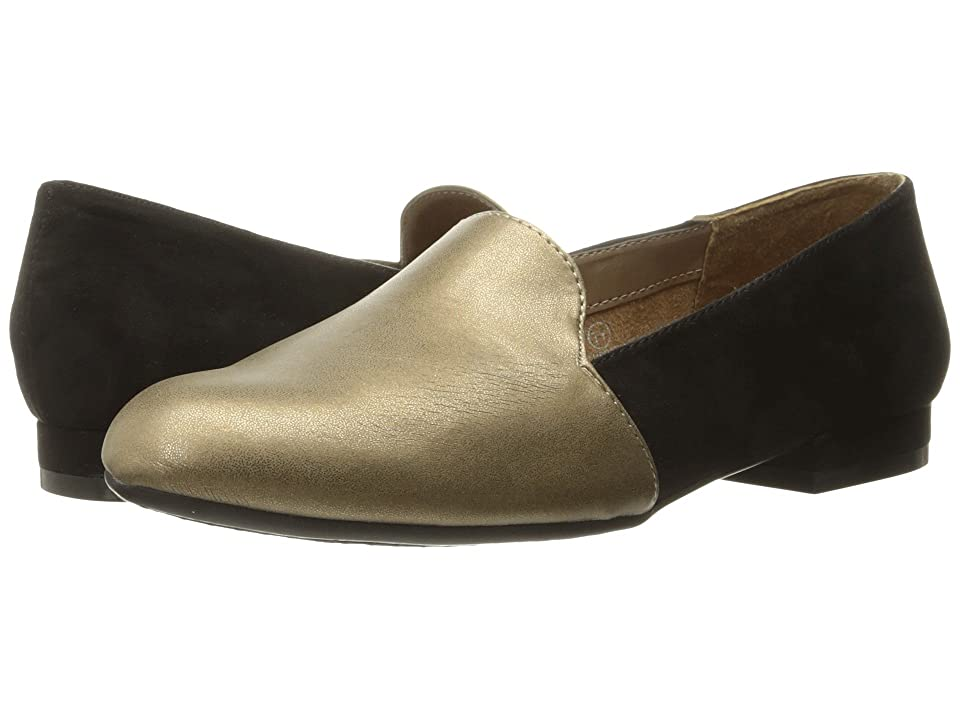 A2 by Aerosoles Good Call (Black/Gold Combo) Women