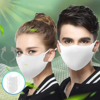 マスク 洗える マスク 3枚入り 洗える 布マスク 繰り返し使用可能 UVカット ひんやり 接触透气 秋用 抗菌 透气素材 クールマスク