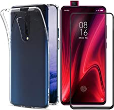 INJOY Compatible with for Xiaomi Mi 9T Case/Xiaomi Redmi K20 Pro Case,[2 in 1] Transparent Soft TPU Phone Case + 9H Tempered Glass Full Screen Protector for Xiaomi Mi 9T (Transparent)