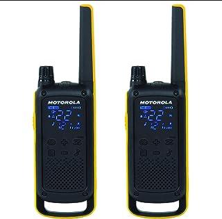 Motorola Radio GMRS T470 Talkabout resistente a la intemperie, 56 km, 2 unidades