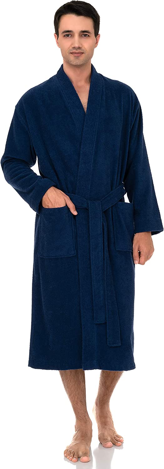 TowelSelections Men's Robe Easy-to-use Turkish Terry Cotton Kimono Bat Limited time sale