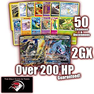 50 Pokemon Cards Plus 2 GX Ultra RARES! GXs All with 200 HP