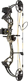 Bear Archery Royale Youth Compound Bow with 5-50 lbs Draw Weight Adjustment and 12-27 in Draw Length Adjustment - No Press Needed
