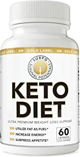Survival Potentials Keto Diet Pills - Exogenous Ketones 800mg Beta-Hydroxybutyrate BHB Keto Supplement for Weight Loss and Easy Transition Into Ketosis (1 Month Supply)